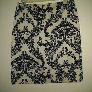 Talbots  Pencil Skirt Stretch Sz 6